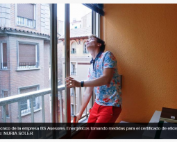 Ya hay más de 13.000 certificados energéticos inscritos en el Registro del Gobierno de Aragón.